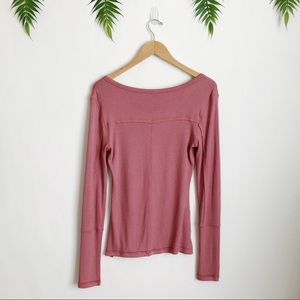 Free People Tops - Free People • Megs Up All Night Henley Top